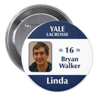 Linda - Bryan Walker Button