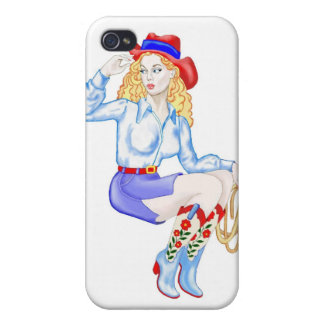 Linda Flores Cases For iPhone 4