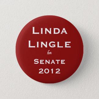 Linda Lingle for Senate Button