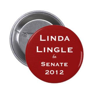 Linda Lingle para el botón del senado Pin