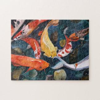 "Linda M. Brandt's ""Bottom Feeders 11"" puzzle"