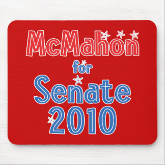 Linda McMahon for Senate 2010 Star Design Mouse Pad