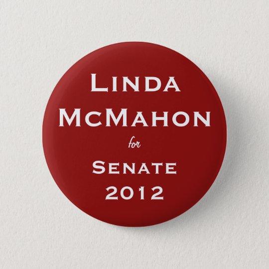 Linda McMahon for Senate Button