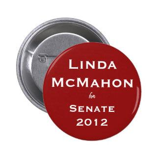 Linda McMahon para el botón del senado Pins