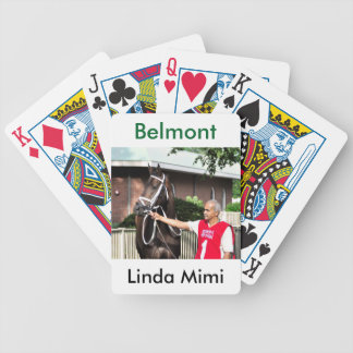 Linda Mimi by Congrats Bicycle Playing Cards