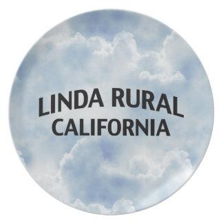 Linda Rural California Plate