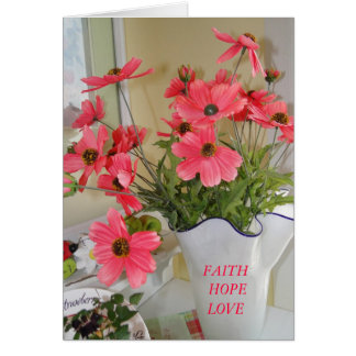 Linda's Bouquet, Inspirational Stationery Note Card