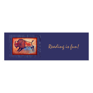 Lindas Buffalo Double-Sided Mini Business Cards (Pack Of 20)