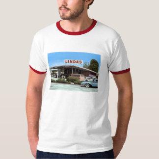 Linda's, Drive thru, Burgers, Vintage T-Shirt