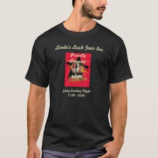 """Linda's Karaoke Rock Star"" Design T-Shirt"