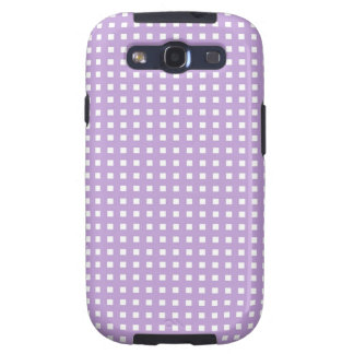 Lindas Lineas color violeta Samsung Galaxy SIII Case