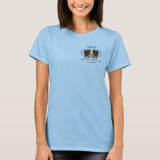 Linda's Place Beer Mug Babydoll T-shirt
