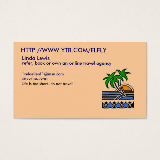 Linda's YTB Business Card