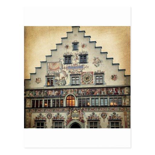 Lindau Germany Old City Hall Postcards