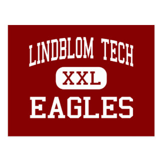 Lindblom Tech - Eagles - High - Chicago Illinois Postcard