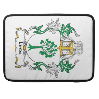 Linde Family Crest Sleeves For MacBooks