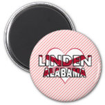 Linden, Alabama Refrigerator Magnets