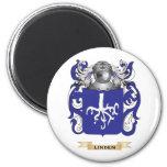 Linden Coat of Arms (Family Crest) Refrigerator Magnet