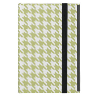 Linden Green Houndstooth Case For iPad Mini