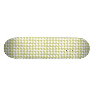 Linden Green Houndstooth Skateboard Deck