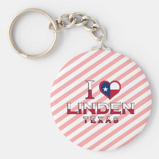 Linden, Texas Keychains
