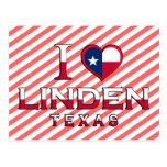 Linden, Texas Post Card