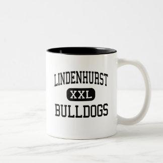 Lindenhurst - Bulldogs - High - Lindenhurst Two-Tone Coffee Mug