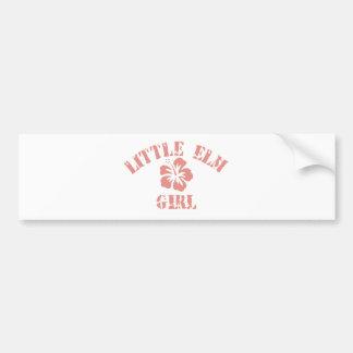 Lindenhurst Pink Girl Car Bumper Sticker