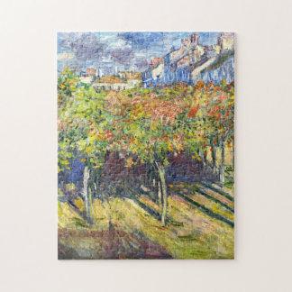 Lindens of Poissy Monet Fine Art Jigsaw Puzzle