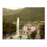 Linderhof Castle, Bavaria, Germany Postcard