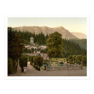 Linderhof Castle II, Bavaria, Germany Postcard