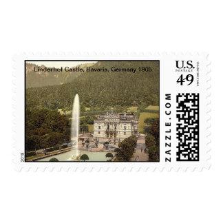 Linderhof Castle, Upper Bavaria, Germany 1905 Postage