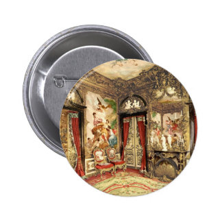 Linderhof Palace Upper Bavaria Germany 2 Inch Round Button