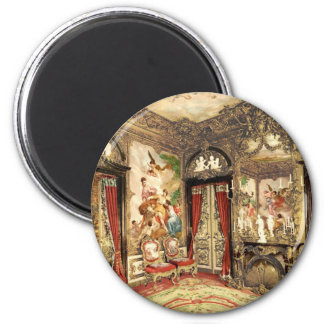 Linderhof Palace Upper Bavaria Germany 2 Inch Round Magnet