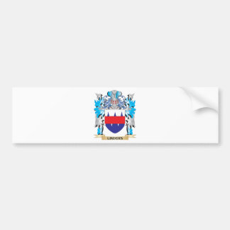 Linders Coat of Arms - Family Crest Car Bumper Sticker