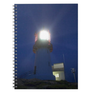 lindesnes fyr, norways most southern point 3 note books