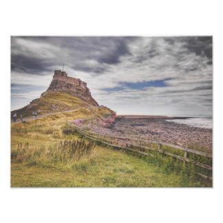 Lindisfarne costero fotografías