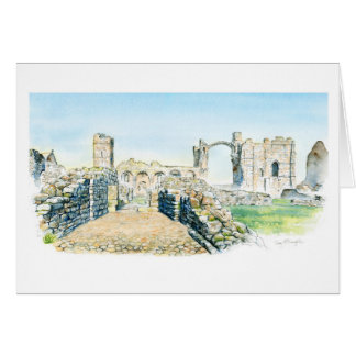 Lindisfarne Priory Card