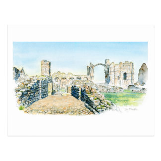Lindisfarne Priory Postcard