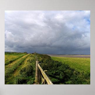 Lindisfarne Storm 2 Poster