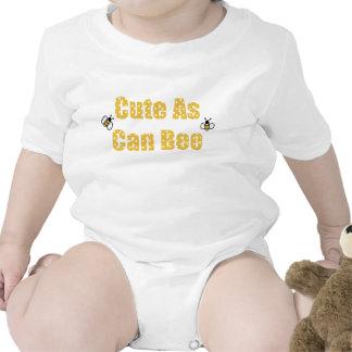 Lindo al igual que el bebé de la abeja camisetas