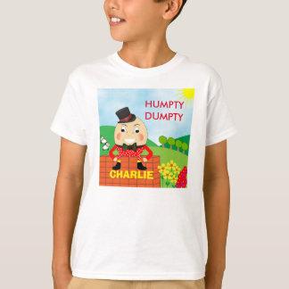 Lindo alegre de Humpty Dumpty de la diversión Playera