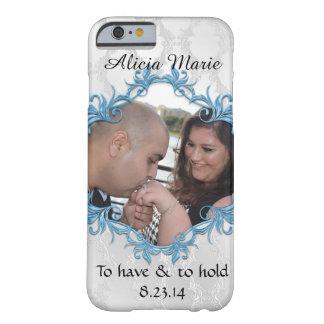 Lindo casando apenas la caja casada del iPhone de Funda De iPhone 6 Barely There