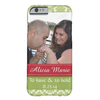 Lindo casando apenas la caja casada del iPhone de Funda Para iPhone 6 Barely There
