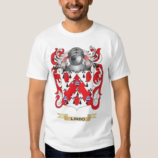 Lindo Coat of Arms (Family Crest) Tee Shirt