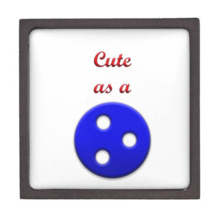 Lindo como botón cajas de joyas de calidad