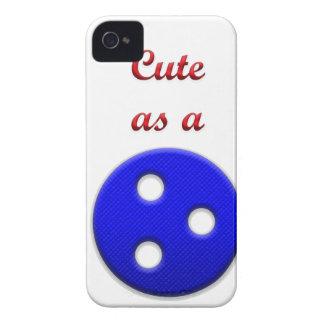 Lindo como botón funda para iPhone 4 de Case-Mate