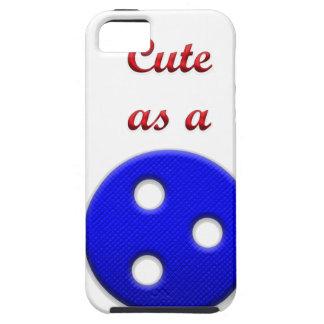 Lindo como botón funda para iPhone SE/5/5s