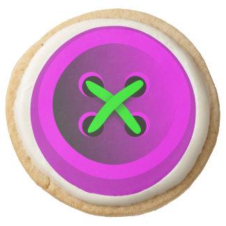 Lindo como galletas de una torta dulce del botón