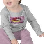 ¡Lindo como insecto! Correa eslabonada infantil Camiseta